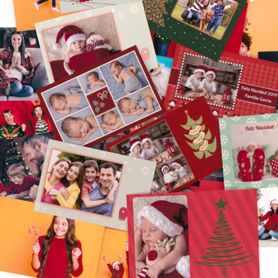 Foto postales Navidad Prints and Friends