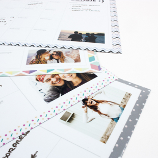 Planificadores de nevera personalizables Prints and Friends
